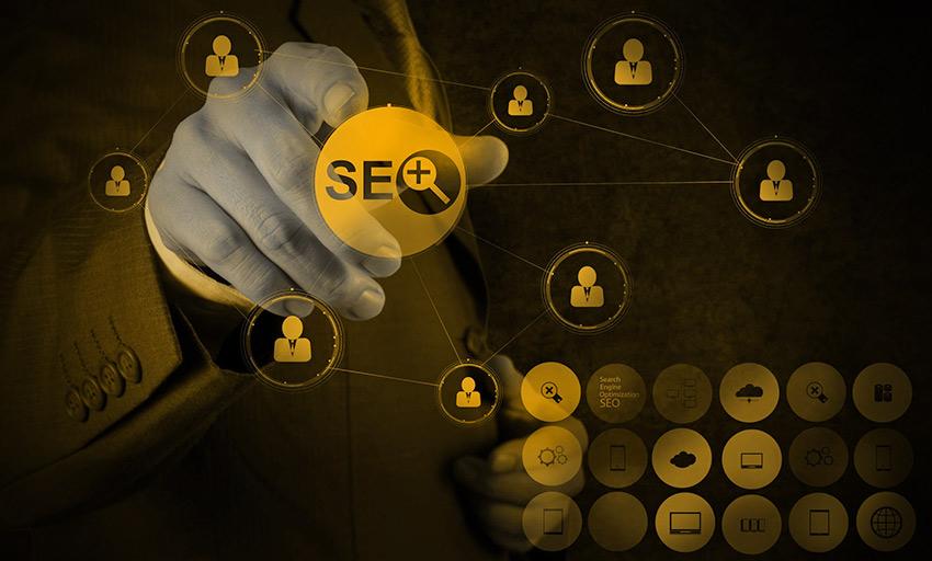 seo optimized search social media