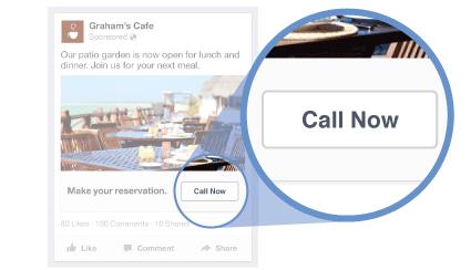 facebook call now