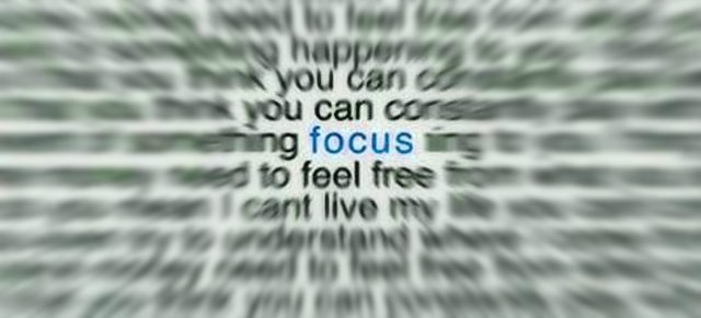 narrow target focus