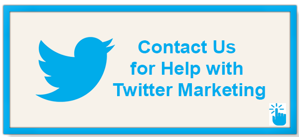 Contact us for to optimize twitter marketing