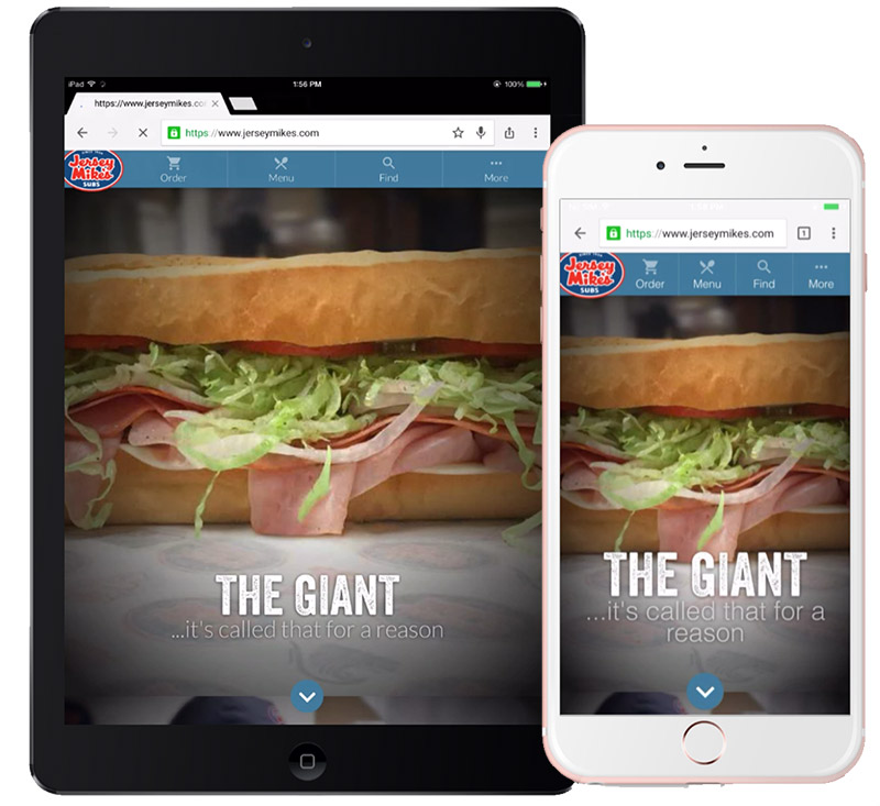 mobile friendly restaurant websites