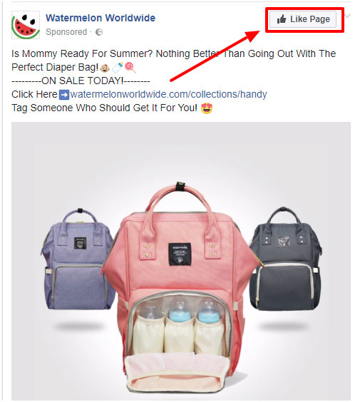 facebook engagement ad advertisement