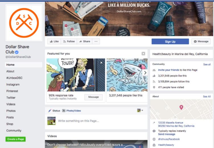 facebook page conversion